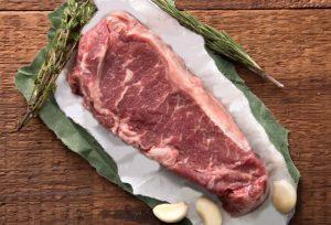 organic grass fed beef new york strip steak