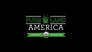 USDA certified organic and grass fed beef black label