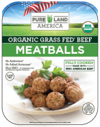 frozen organic meatballs shipped from pureland america directly to your house