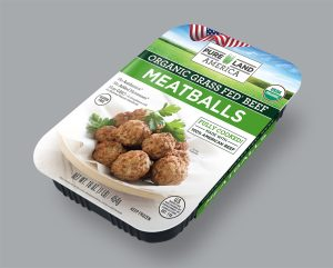 fully cooked pureland america grass fed frozen meatballs