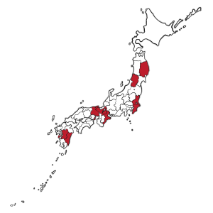 The country of Japan that breef Wagyu beef Cattle